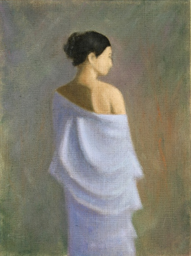 Figure Study | 9x12 oil on linen panel [artists collection]