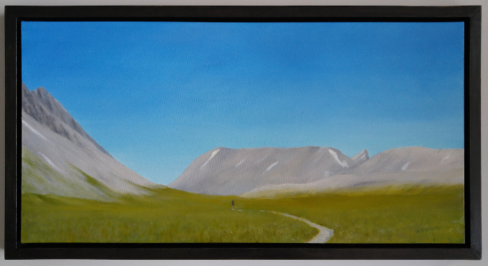 Wilcox Pass | 18-36 oil on canvas