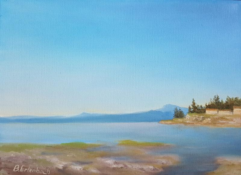 Craig Bay   12x16 oil on canvas